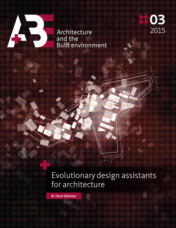 View No. 3 (2015): Evolutionary design assistants for architecture