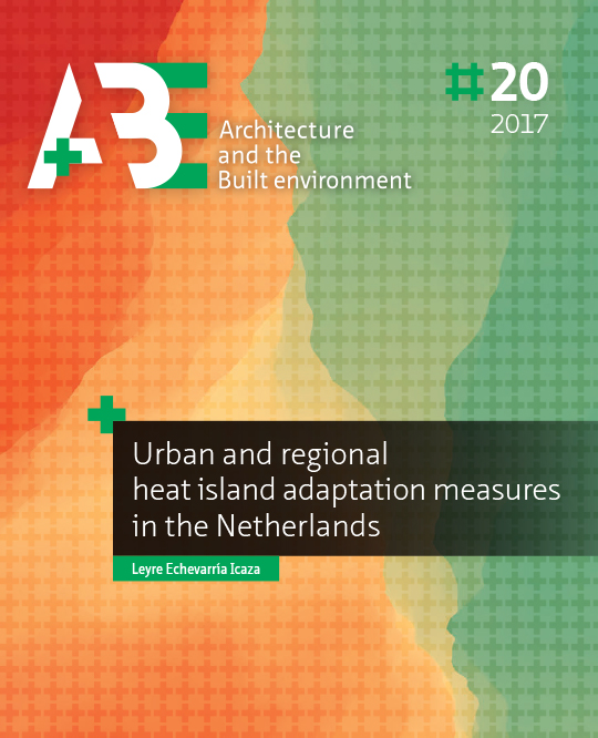 View No. 20 (2017): Urban and regional heat island adaptation measures in the Netherlands