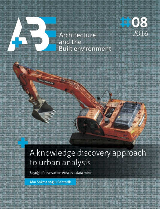 View No. 8 (2016): A knowledge discovery approach to urban analysis