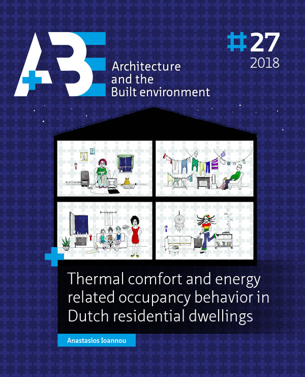 View No. 27 (2018): Thermal comfort and energy related occupancy behavior in Dutch residential dwellings