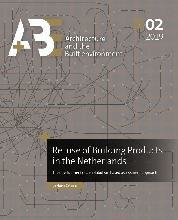 View No. 2 (2019): Re-use of Building Products in the Netherlands