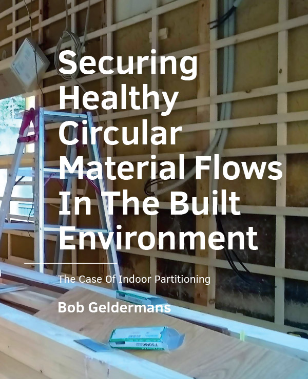 View No. 06 (2020): Securing Healthy Circular Material Flows In The Built Environment