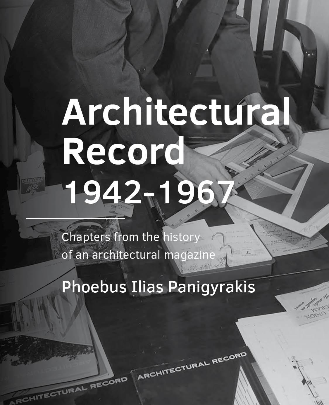 View No. 11 (2020): Architectural Record 1942-1967