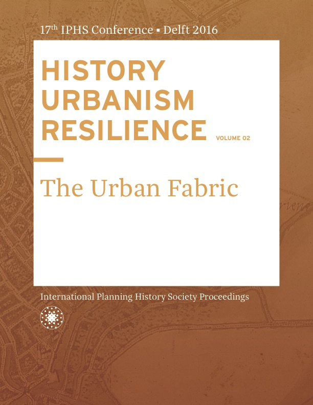 View Vol. 17 No. 2 (2016): HISTORY URBANISM RESILIENCE: The Urban Fabric