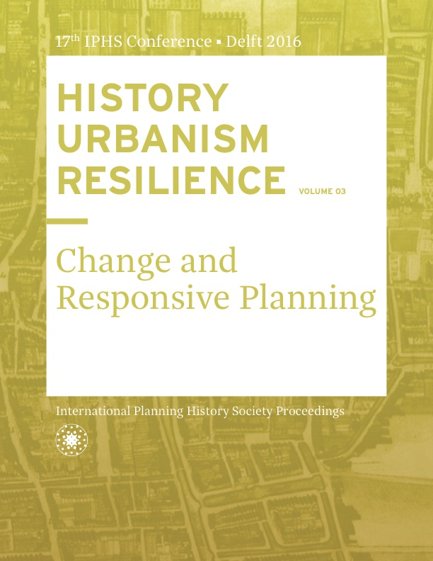 View Vol. 17 No. 3 (2016): HISTORY URBANISM RESILIENCE: Change and Responsive Planning