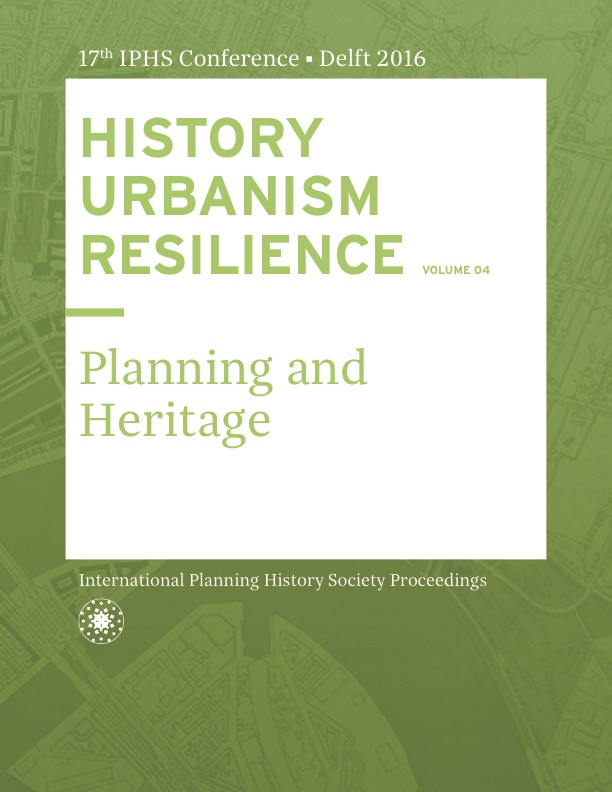 View Vol. 17 No. 4 (2016): HISTORY URBANISM RESILIENCE: Planning and Heritage
