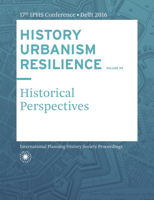 View Vol. 17 No. 5 (2016): HISTORY URBANISM RESILIENCE: Historical Perspectives