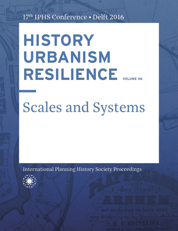 View Vol. 17 No. 6 (2016): HISTORY URBANISM RESILIENCE: Scales and Systems