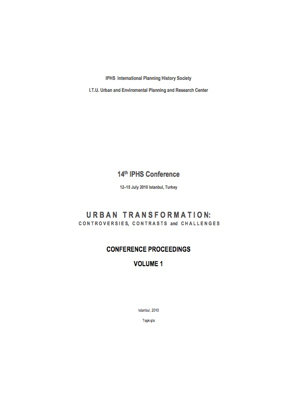 View Vol. 14 No. 1 (2010): Urban transformation: controversies, contrasts and challenges. Volume 1
