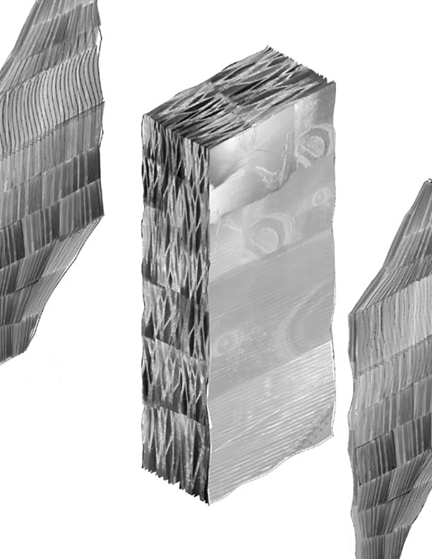 Spong3d: 3D printed facade system enabling movable fluid heat