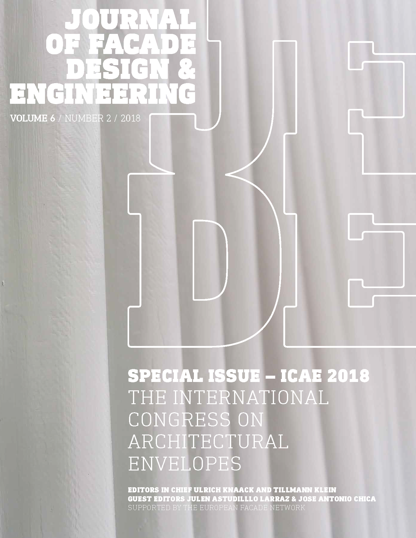 View Vol. 6 No. 2 (2018): Special Issue ICAE2018