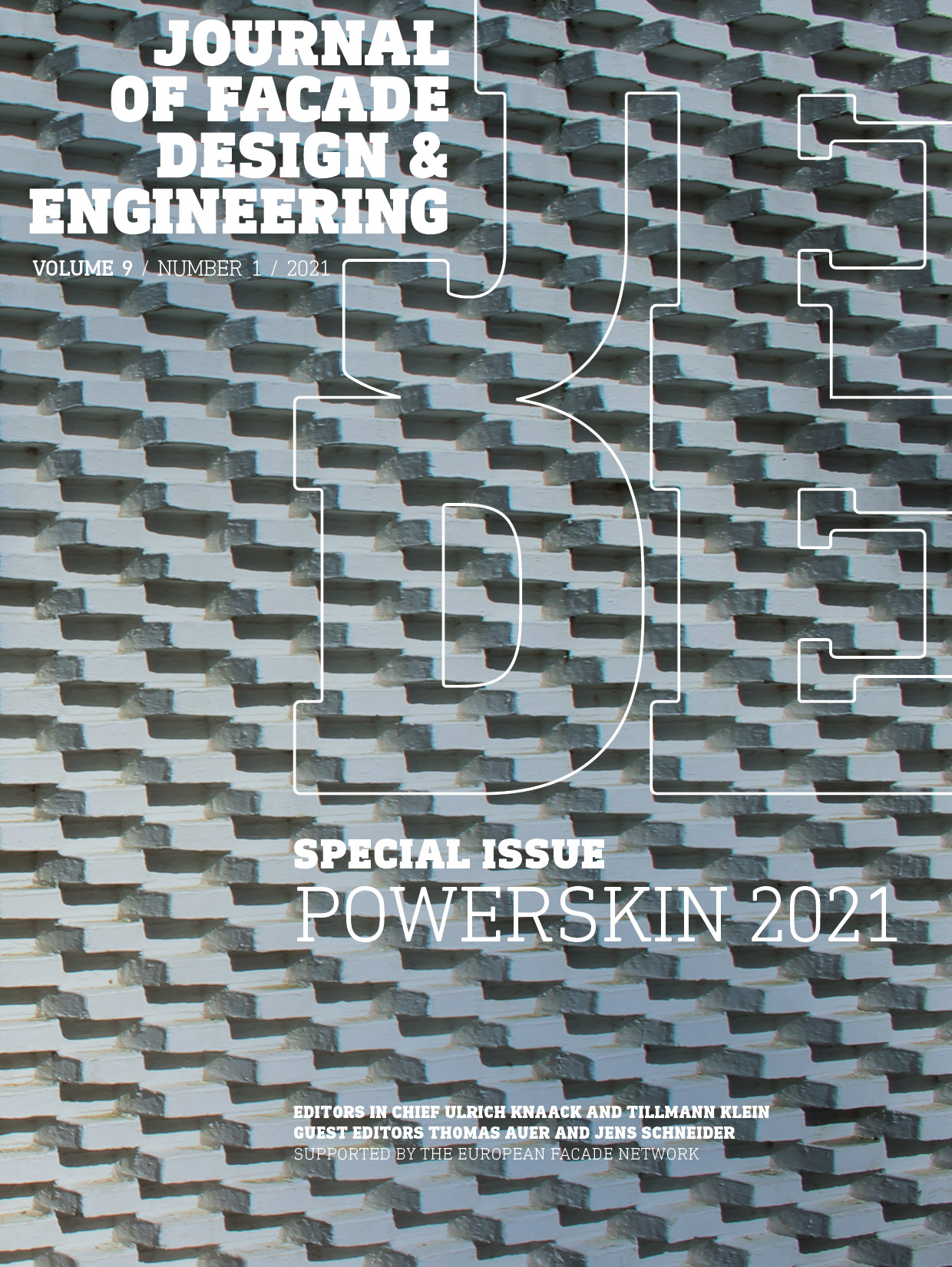 View Vol. 9 No. 1 (2021): Special Issue Powerskin 2021