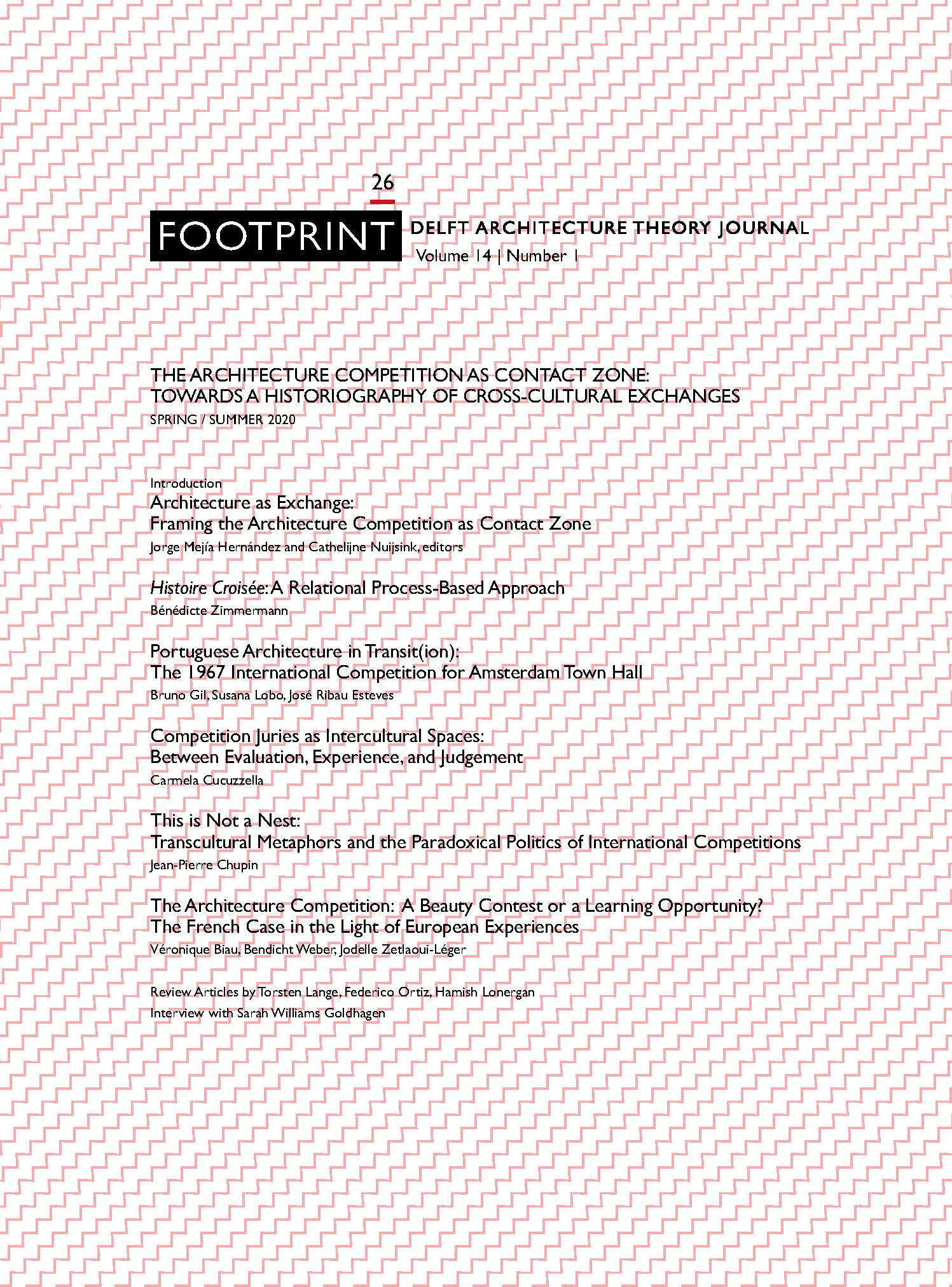 View Vol. 14 No. 1 (2020): Issue # 26 | Spring / Summer 2020 | The Architecture Competition as Contact Zone: Towards a Historiography of Cross-Cultural Exchanges